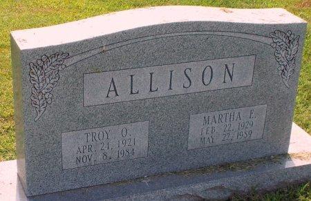 ALLISON, MARTHA ELLEN - Barry County, Missouri   MARTHA ELLEN ALLISON - Missouri Gravestone Photos