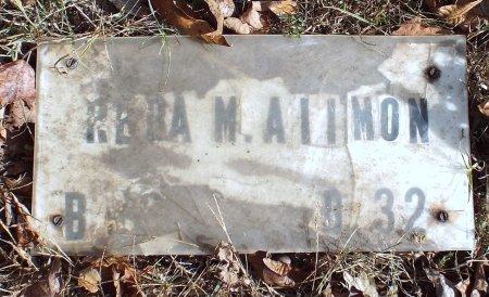 ALLMON, REBA M - Barry County, Missouri   REBA M ALLMON - Missouri Gravestone Photos
