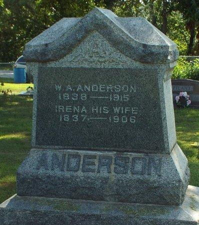 ANDERSON, IRENA - Barry County, Missouri   IRENA ANDERSON - Missouri Gravestone Photos