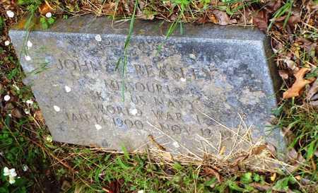 "BEASLEY, JOHN THORNTON ""JACK"" VETERAN WWI - Barry County, Missouri | JOHN THORNTON ""JACK"" VETERAN WWI BEASLEY - Missouri Gravestone Photos"