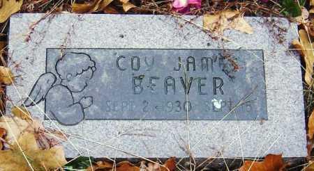BEAVER, COY JAMES - Barry County, Missouri   COY JAMES BEAVER - Missouri Gravestone Photos