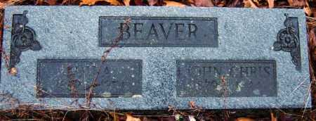 BEAVER, LOU ALVESTA - Barry County, Missouri | LOU ALVESTA BEAVER - Missouri Gravestone Photos