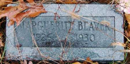 BEAVER, MARGUERITE - Barry County, Missouri   MARGUERITE BEAVER - Missouri Gravestone Photos