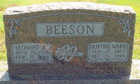 BEESON, LEONARD MORTON - Barry County, Missouri | LEONARD MORTON BEESON - Missouri Gravestone Photos