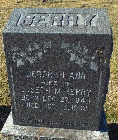 WEAVER BERRY, DEBORAH ANN - Barry County, Missouri | DEBORAH ANN WEAVER BERRY - Missouri Gravestone Photos