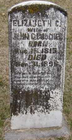 BOUCHER, ELIZABETH C - Barry County, Missouri | ELIZABETH C BOUCHER - Missouri Gravestone Photos