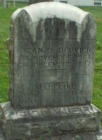 BOUVIER, MADELINE - Barry County, Missouri | MADELINE BOUVIER - Missouri Gravestone Photos
