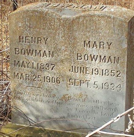 BOWMAN, HENRY VETERAN CW - Barry County, Missouri | HENRY VETERAN CW BOWMAN - Missouri Gravestone Photos