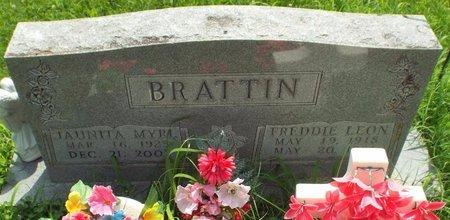 BRATTIN, FREDDIE LEON - Barry County, Missouri | FREDDIE LEON BRATTIN - Missouri Gravestone Photos