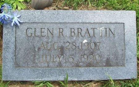 BRATTIN, GLEN R. - Barry County, Missouri | GLEN R. BRATTIN - Missouri Gravestone Photos