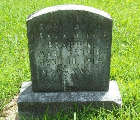 BRATTIN, RUBY - Barry County, Missouri   RUBY BRATTIN - Missouri Gravestone Photos