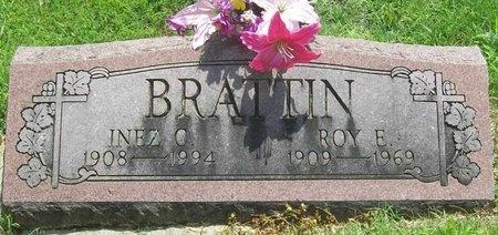 BRATTIN, INEZ C. - Barry County, Missouri | INEZ C. BRATTIN - Missouri Gravestone Photos