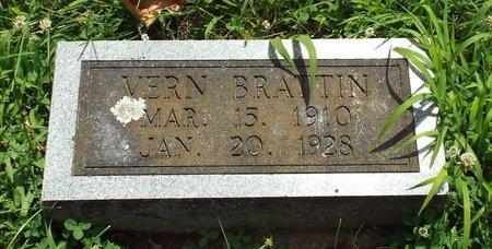 BRATTIN, VERN - Barry County, Missouri   VERN BRATTIN - Missouri Gravestone Photos