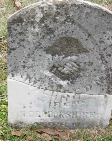 BROOKSHIRE, MILDRED MALVINA - Barry County, Missouri   MILDRED MALVINA BROOKSHIRE - Missouri Gravestone Photos