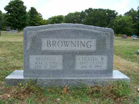 DAVIS BROWNING, BEATRICE 'BEA' - Barry County, Missouri   BEATRICE 'BEA' DAVIS BROWNING - Missouri Gravestone Photos