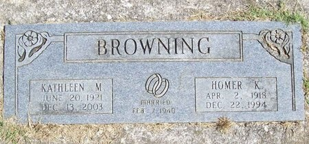 WILLIAMS BROWNING, KATHLEEN MARIE - Barry County, Missouri | KATHLEEN MARIE WILLIAMS BROWNING - Missouri Gravestone Photos
