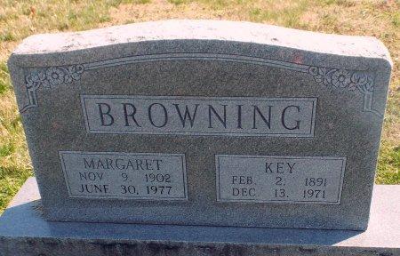 BROWNING, KEY (VETERAN WWI) - Barry County, Missouri | KEY (VETERAN WWI) BROWNING - Missouri Gravestone Photos