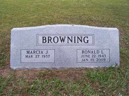 BROWNING, RONALD LEE - Barry County, Missouri | RONALD LEE BROWNING - Missouri Gravestone Photos
