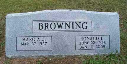 BROWNING, RONALD - Barry County, Missouri | RONALD BROWNING - Missouri Gravestone Photos