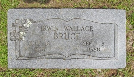 BRUCE, IRWIN WALLACE - Barry County, Missouri | IRWIN WALLACE BRUCE - Missouri Gravestone Photos