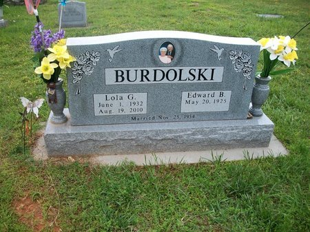 BURDOLSKI, LOLA - Barry County, Missouri   LOLA BURDOLSKI - Missouri Gravestone Photos