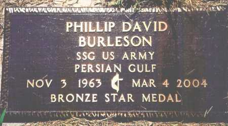 BURLESON, PHILLIP DAVID (VETERAN PG) - Barry County, Missouri | PHILLIP DAVID (VETERAN PG) BURLESON - Missouri Gravestone Photos