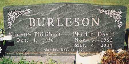 BURLESON, PHILLIP DAVID - Barry County, Missouri   PHILLIP DAVID BURLESON - Missouri Gravestone Photos