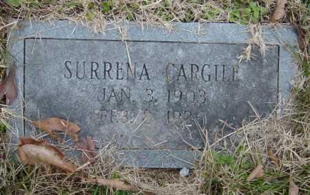 CARGILE, SURRENA - Barry County, Missouri   SURRENA CARGILE - Missouri Gravestone Photos