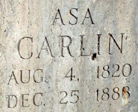 CARLIN, ASA - Barry County, Missouri | ASA CARLIN - Missouri Gravestone Photos