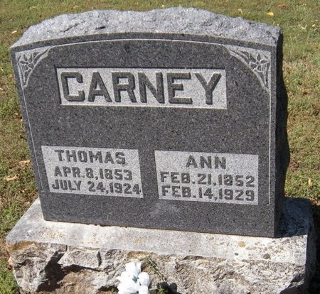 CARNEY, THOMAS - Barry County, Missouri | THOMAS CARNEY - Missouri Gravestone Photos
