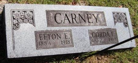 CARNEY, EFTON E - Barry County, Missouri | EFTON E CARNEY - Missouri Gravestone Photos