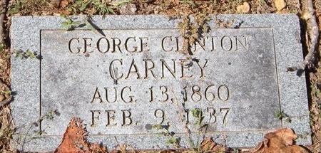 CARNEY, GEORGE CLINTON - Barry County, Missouri | GEORGE CLINTON CARNEY - Missouri Gravestone Photos