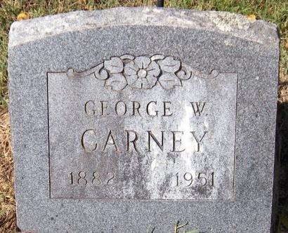 CARNEY, GEORGE WASHINGTON - Barry County, Missouri | GEORGE WASHINGTON CARNEY - Missouri Gravestone Photos