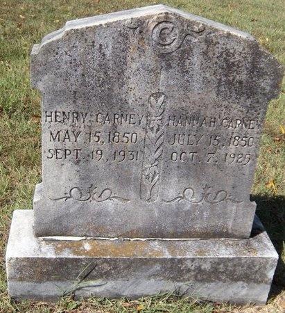 CARNEY, HENRY - Barry County, Missouri | HENRY CARNEY - Missouri Gravestone Photos