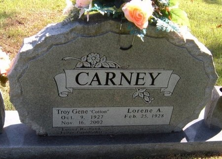 "CARNEY, TROY GENE ""COTTON"" - Barry County, Missouri 