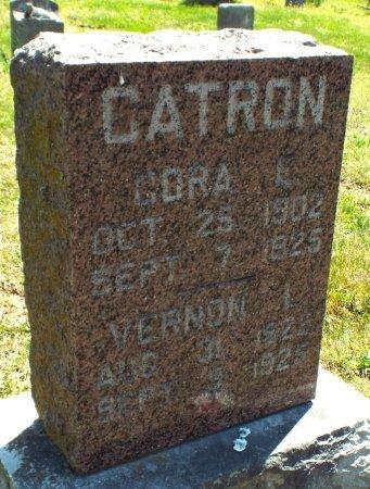 CATRON, VERNON L. - Barry County, Missouri | VERNON L. CATRON - Missouri Gravestone Photos
