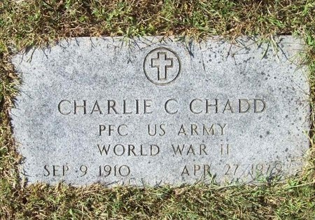 CHADD, CHARLIE C (VETERAN WWII) - Barry County, Missouri | CHARLIE C (VETERAN WWII) CHADD - Missouri Gravestone Photos