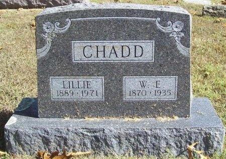 CHADD, W. E. - Barry County, Missouri | W. E. CHADD - Missouri Gravestone Photos
