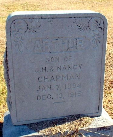 CHAPMAN, ARTHUR - Barry County, Missouri | ARTHUR CHAPMAN - Missouri Gravestone Photos
