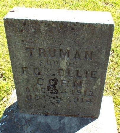 CORN, TRUMAN  - Barry County, Missouri | TRUMAN  CORN - Missouri Gravestone Photos