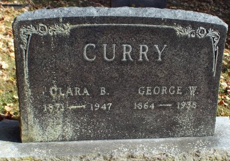 CURRY, GEORGE WILLIAM  - Barry County, Missouri | GEORGE WILLIAM  CURRY - Missouri Gravestone Photos