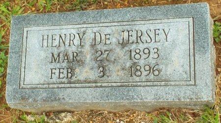 DE JERSEY, HENRY  - Barry County, Missouri | HENRY  DE JERSEY - Missouri Gravestone Photos