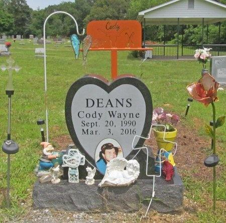DEANS, CODY WAYNE - Barry County, Missouri | CODY WAYNE DEANS - Missouri Gravestone Photos
