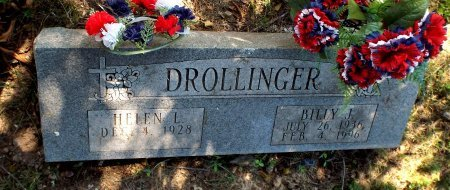 DROLLINGER, HELEN L - Barry County, Missouri | HELEN L DROLLINGER - Missouri Gravestone Photos