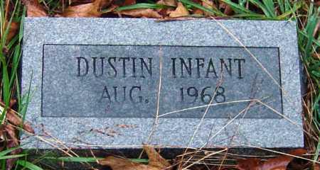 DUSTIN, INFANT - Barry County, Missouri   INFANT DUSTIN - Missouri Gravestone Photos