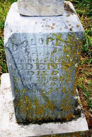 EDENS, DELORES - Barry County, Missouri   DELORES EDENS - Missouri Gravestone Photos