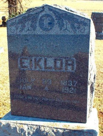 EIKLOR, JOHN (VETERAN CW) - Barry County, Missouri   JOHN (VETERAN CW) EIKLOR - Missouri Gravestone Photos