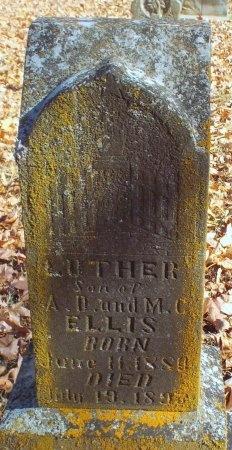 ELLIS, LUTHER - Barry County, Missouri | LUTHER ELLIS - Missouri Gravestone Photos