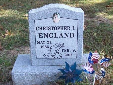 ENGLAND, CHRISTOPHER L. - Barry County, Missouri   CHRISTOPHER L. ENGLAND - Missouri Gravestone Photos