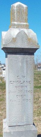 ENGLAND, EDWARD WILLIAM - Barry County, Missouri | EDWARD WILLIAM ENGLAND - Missouri Gravestone Photos